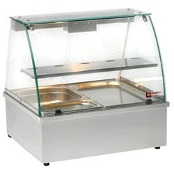 Vattenbad display - bänkmodell VBE-211 (2xGN1/1) 695x602x680