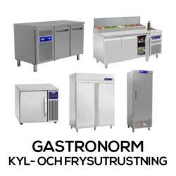Gastronorm Kyl- och Frysutrustning