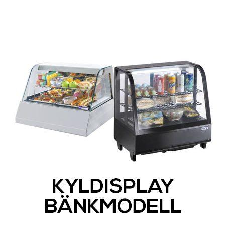Kyldisplay - Bänkmodell