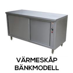 Värmeskåp - Bänkmodell