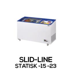 Slid-line - Statisk -15 -23