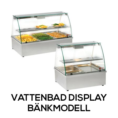 Vattenbad Display - Bänkmodell