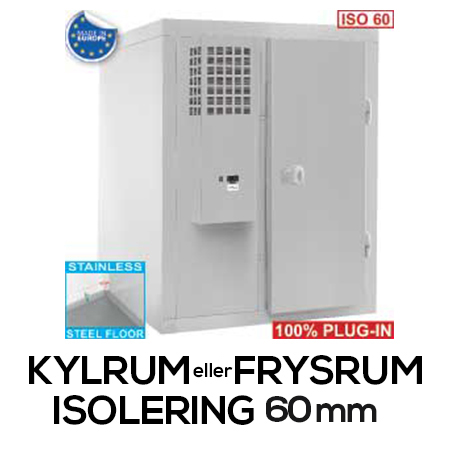 Kylrum - Frysrum (Isolering 60mm)