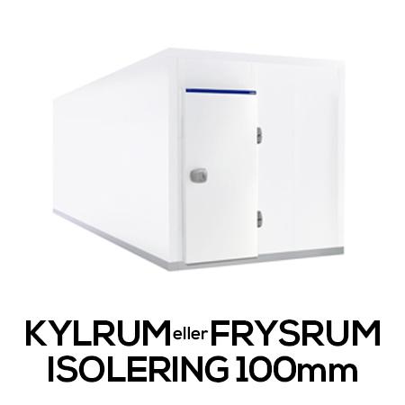 Kylrum / Frysrum (Isolering 100mm)