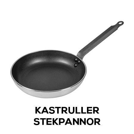 Kastruller/Stekpannor